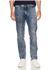 美亚海淘!Calvin Klein Jeans Slim Straight Fit 男士<span class='red'>牛仔裤</span>